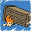 Flipping boxes