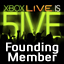 Xbox LIVE is 5IVE Gamerpic